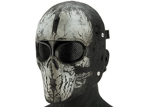 Evike.com R-Custom FiberglassGhost Mask (Style: Keegan / Mesh)