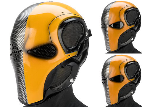Evike.com R-Custom Fiberglass Death Stroke Full Face Mask
