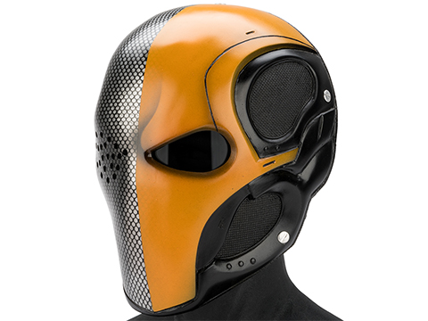 Evike.com R-Custom Fiberglass Death Stroke Full Face Mask (Color: Grey Lens)