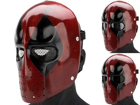 Evike.com R-Custom Fiberglass  Snarky Mercenary Full Face Mask