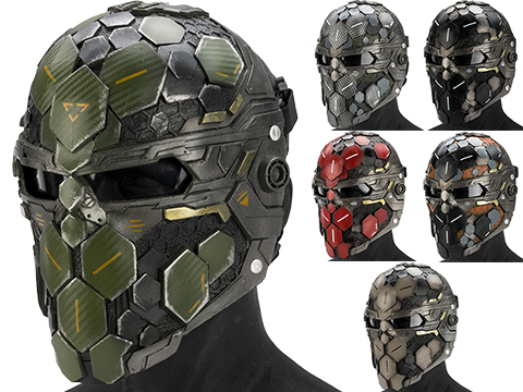 Evike.com R-Custom Fiberglass  Cypher Full Face Mask