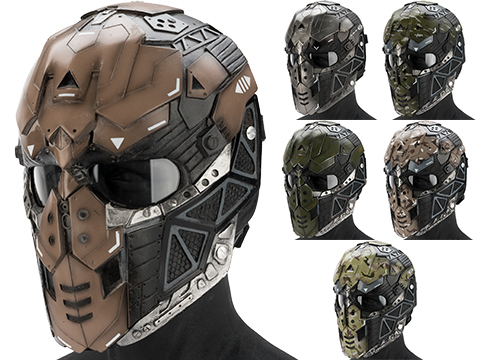 Evike.com R-Custom Fiberglass Raptor Full Face Mask