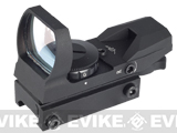 AIM Sports Dual Illuminated Panorama Red Dot Scope - (Warfare)