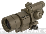 Matrix Military Type 1x30 Red & Green Dot Sight w/ QD Cantilever Mount (Model: Low Mount / Tan)