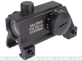 Matrix Real Steel Series Red & Green Dot Scope for HK MP5 G3 Series Rifles (Integrated Claw Mount)