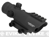 V-Tactical 1x30mm Red Dot Sight by Valken - Black