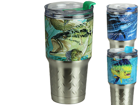 River's Edge Stainless Steel 24oz Tumbler w/ Double-Wall Insulation