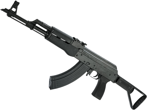 Real Sword Type56-2 Full Size Airsoft AEG Electric Rifle with Side Folding Stock (Color: Black Polymer)
