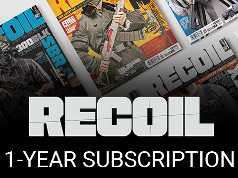 RECOIL Magazine 1-Year Subscription Service
