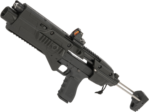 Red Star Airsoft ORION PRO PDW Conversion Kit w/ Collapsible Stock for Umarex GLOCK 17 Airsoft Pistols (Type: Kit Only)