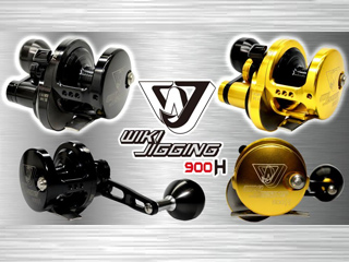 Wiki Jigging 900H Light Jigging Fishing Reel (Model: Red / Gold / Right)