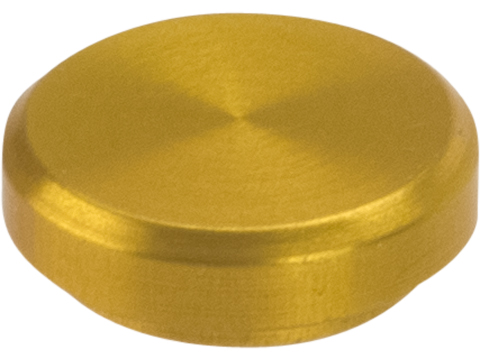 Retro Arms CNC Machined Aluminum Fire Selector Cover / Plug for M4 / M16 Series AEGs (Color: Gold)