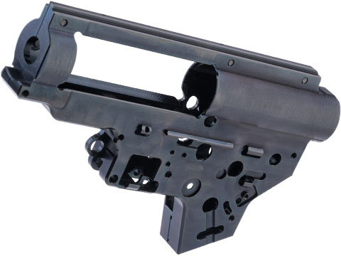 Retro Arms CZ Billet CNC 8mm Ver.2 Gearbox Shell for E&L M4 / M16 Series Airsoft AEG Rifles