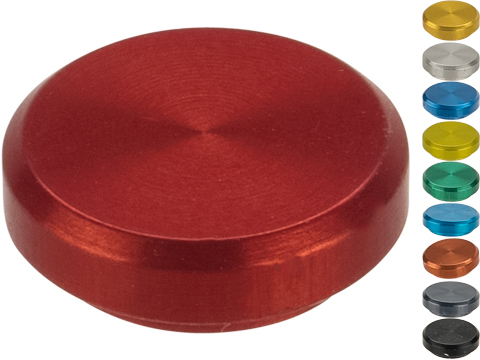 Retro Arms CNC Machined Aluminum Fire Selector Cover / Plug for M4 / M16 Series AEGs (Color: Red)