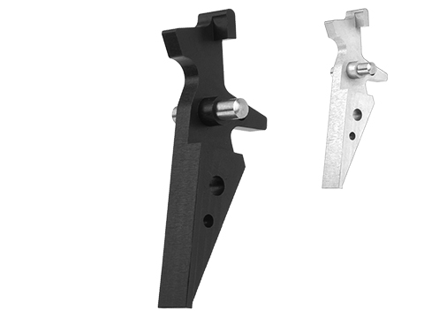 Retro Arms CZ Custom CNC Aluminum Trigger for M4 / M16 Series Airsoft AEG Rifles
