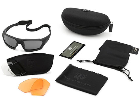 Revision ShadowStrike Deluxe Shooter's Ballistic Sunglasses Kit