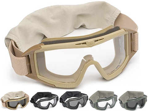Revision Desert Locust Goggles (Type: Basic / Tan / Clear)