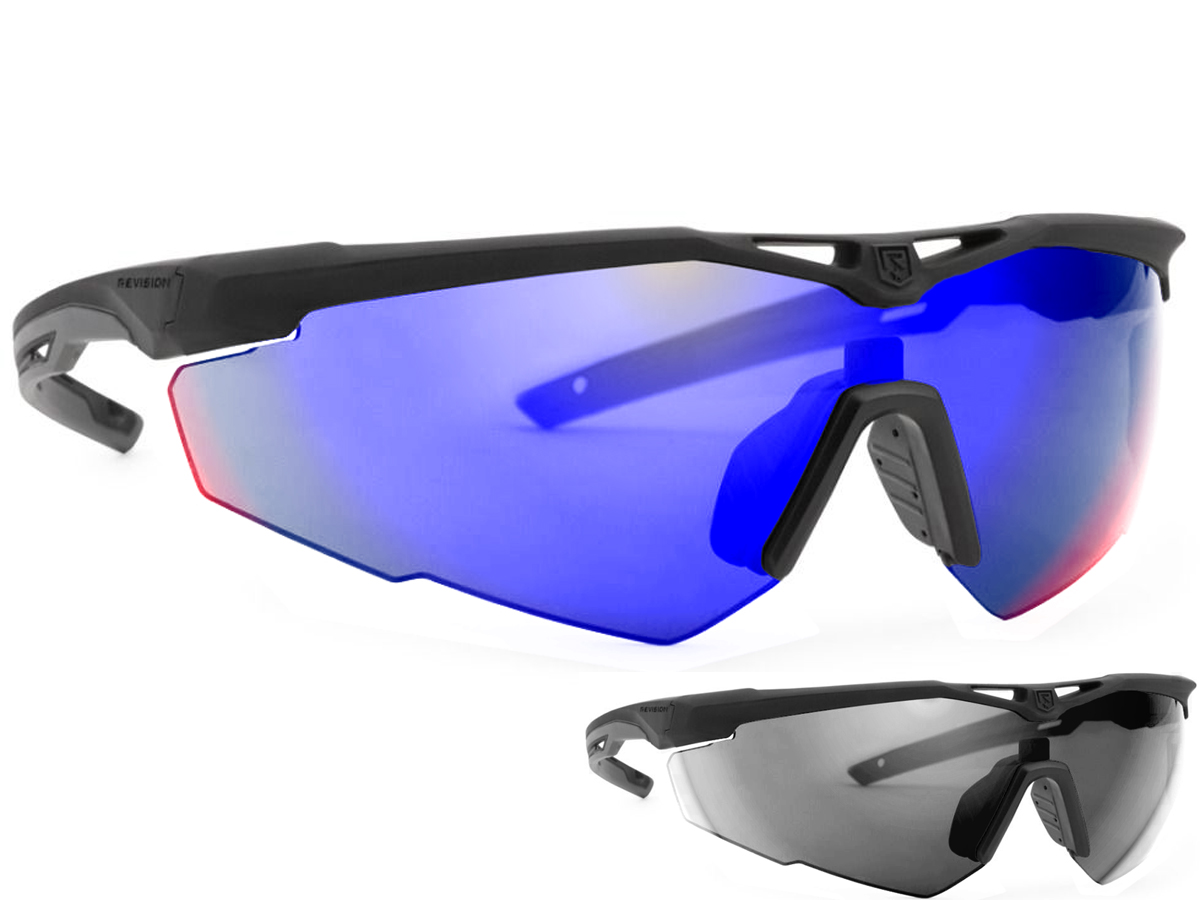 Revision Stingerhawk Essentials Ballistic Eyewear Kit (Color: Midnight Mirror)