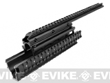 AIM Sports Saiga 12G Quad Rail for 12-Gauge Shotgun w/ Rail Covers