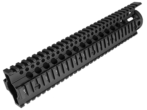 Daniel Defense Licensed Omega Rail System for Airsoft AEG by Madbull (Color: Black / 12)