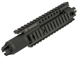 Madbull PWS Diablo Handguard Kit for M4 Series Airsoft AEG (Color: Black)