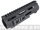 Madbull VTAC Extreme Battle Rail for Airsoft M4/M16 Series Airsoft AEG Rifles (Color: Black / 7)