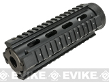 "AIM ""Real Steel"" High Grade M4 QUAD RIS Handguard w/ Rubberized Rail Covers"