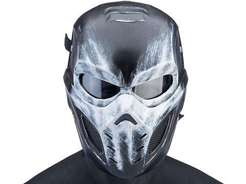 Evike.com R-Custom Fiberglass Crossbone Full Face Mask (Type: Mesh Lens)