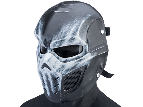 Evike.com R-Custom Fiberglass Crossbone Full Face Mask (Type: Smoke Lens / Medium)