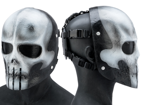 Evike.com R-Custom Fiberglass Wire Mesh Skull Mask