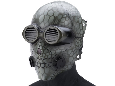 Evike.com R-Custom Fiberglass Wire Mesh Inspired by Death Gun - OD Green