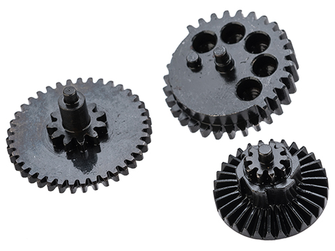 Rocket Airsoft CNC Steel Gear Set for Tokyo Marui Spec Airsoft AEG Gearboxes