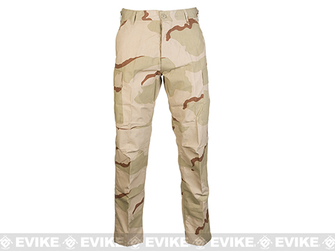 Rothco 65/35 BDU Pants - 3 Color Desert (Size: Small)