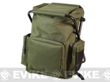 z Rothco Tactical Back Pack Stool - Olive Drab
