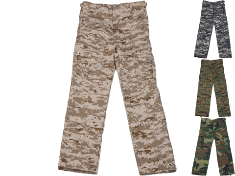 Rothco Kid's BDU Pants (Color: Digital Desert / Large)