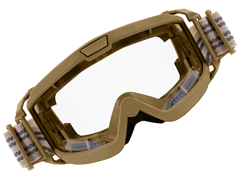 Rothco OTG (Over the Glasses) ANSI Rated / Mil-Spec Ballistic Goggles (Color: Coyote Brown / Clear Lens)