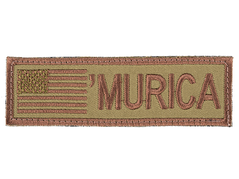 Rothco Murica Hook and Loop Flag Patch