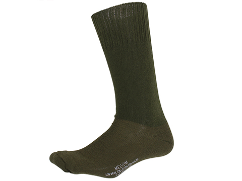 Rothco G.I. Type Cold-Weather Cushion Sole Socks (Color: OD Green / 1 Pair)