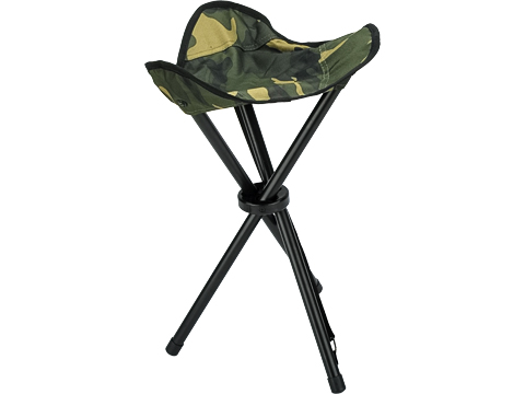 Rothco Collapsible Stool with Carry Strap (Color: Woodland)