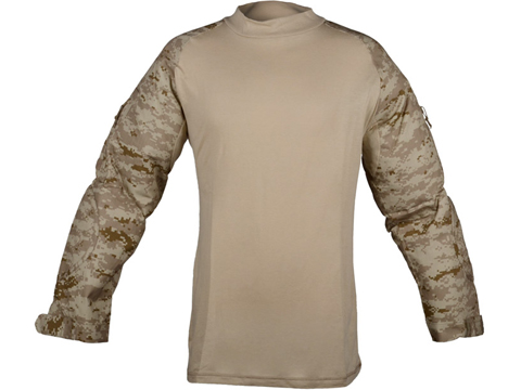 Rothco Tactical Airsoft Combat Shirt (Color: Digital Desert / Large)