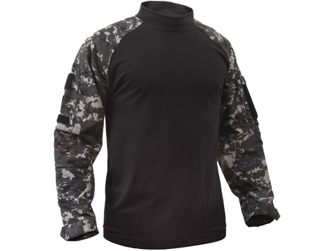 Rothco Tactical Airsoft Combat Shirt (Color: Subdued Urban Digital / Medium)