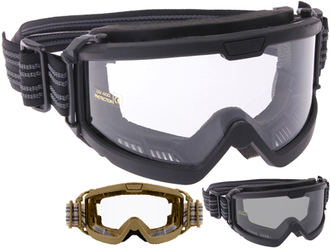 27eccaa542 Rothco OTG (Over the Glasses) ANSI Rated   Mil-Spec Ballistic Goggles
