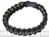 "Rothco Survival Paracord Bracelet w/ QD Buckle - (OD & Black / 9"")"