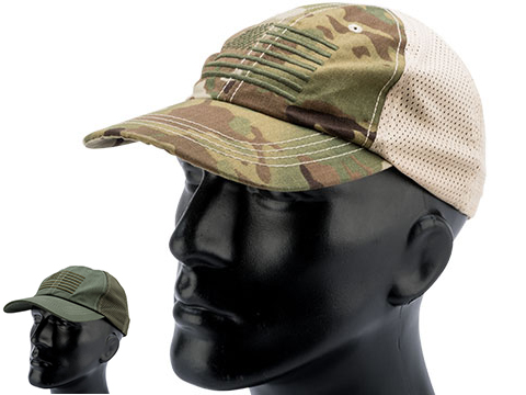 Rothco Mesh Back Tactical Cap w/ Embroidered Flag
