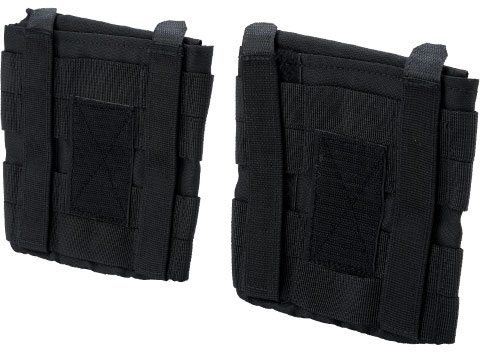 Rothco Side Armor Pouch Set (Color: Black)