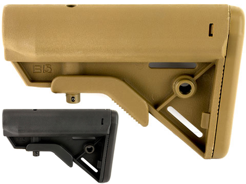 B5 Systems SOPMOD BRAVO Retractable Stock for AR15 Rifles