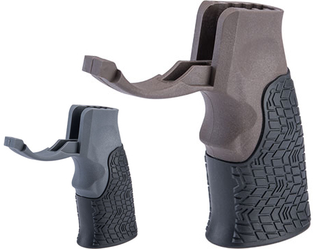 Daniel Defense Pistol Grip w/ Integrated Trigger Guard for AR Rifles (Color: Mil Spec+ Brown)
