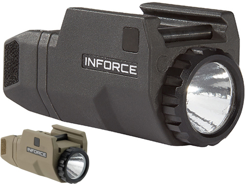INFORCE APLc 200 Lumen Weapon Light for Glock Pistols (Color: Black)