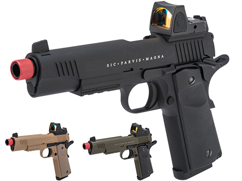 Secutor Arms Rudis Magna Series 1911 Gas Blowback Airsoft Pistol