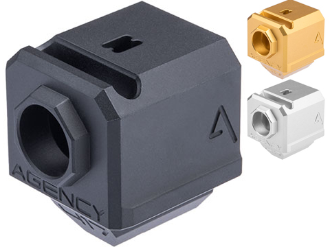 RWA Agency Arms 417 Single Port Compensator for Elite Force GLOCK Series Gas Blowback Airsoft Pistols